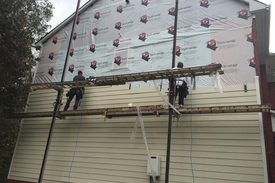 Siding Installation 165 Hidden Valley Rd.