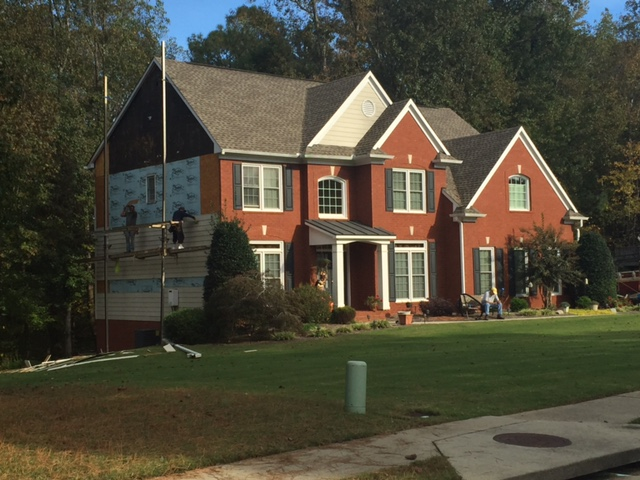 Siding Replacement Fayetteville, Ga.