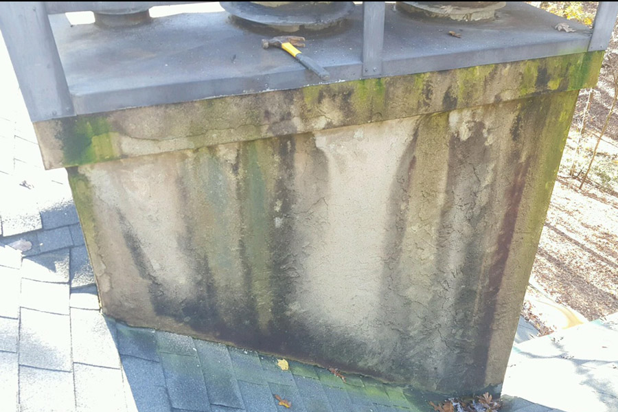 Stucco Siding Chimney Leak Peachtree City