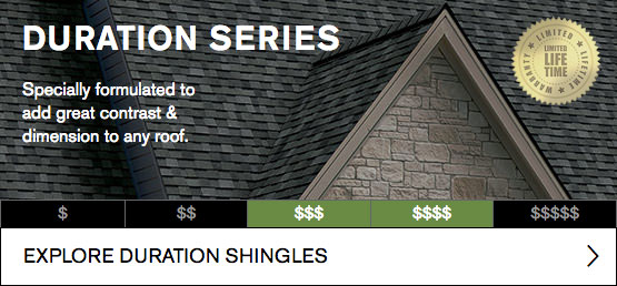 Duration Series Roofing Shingles Image